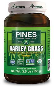 Pines International, Organic Wheat Grass Powder - 3.5 oz
