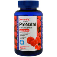Yum-Vs, PreNatal Multivitamin with Folic Acid, Berry Flavors, 90 Jellies