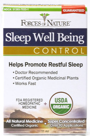 Forces Of Nature Sleep Well Being Control Topical Ointment - 11 mL