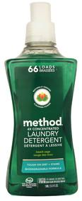 Method, Laundry Detergent 66 Loads Beach Sage - 53.5 fl oz