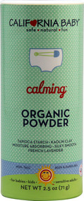 California Baby, Calming Organic Powder - 2.5 oz