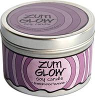 Zum, Glow Soy Candle Frankincense-Lavender - 7 oz Tin