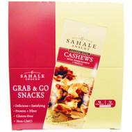 Sahale Snacks, Glazed Nuts, Cashews with Pomegranate + Vanilla, 9 Packs, 1.5 oz (42.5 g) Each