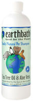 Earthbath, Pet Shampoo Tea Tree Oil and Aloe Vera - 16 fl oz