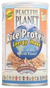 VegLife, Peaceful Planet Rice Protein Energy Shake,  Caribbean Cocoa - 13.2 oz