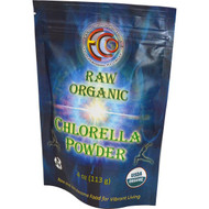 Earth Circle Organics, Chlorella Powder, Raw Organic, 4 oz (113 g)