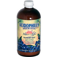 Natures Life, Acidophilus Probiotic, Pro-96, Blueberry Blast, 16 fl oz (474 ml)