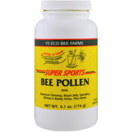 Y.S. Eco Bee Farms, Super Sports, Bee Pollen, Protein Drink Enhancer, 6.1 oz (174 g)