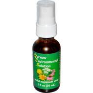 Flower Essence Services, Yarrow Environmental Solution Spray, 1 fl oz (30 ml)
