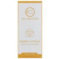 BCL, Be Care Love, 100% Pure Essential Oil Blend, Simply Citrus, 0.34 fl oz (10 ml)
