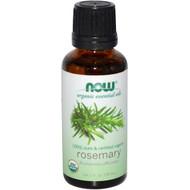 Now Foods, Organic Essential Oils, Rosemary, 1 fl oz (30 ml)