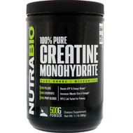 NutraBio Labs, Creatine Monohydrate, 1.1 lb (500 g)