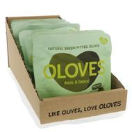 3 PACK OF Oloves, Basil & Garlic, 10 Packs, 1.1 oz (30 g) Each