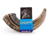 Icelandic Plus Large Lamb Horn Dog Treat - 4 oz