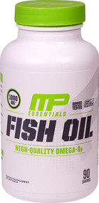 MusclePharm Essentials Fish Oil Citrus - 1000 mg - 90 Servings