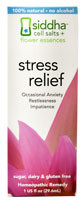 Living Flower Essences Siddha Stress Relief -- 1 fl oz