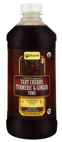 Vitaco, Certified Organic Tart Cherry, Turmeric & Ginger Tonic - 16 fl oz (473 mL)