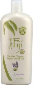 Organic Fiji Virgin Coconut Oil Lavender -- 12 fl oz