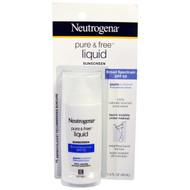 Neutrogena, Pure & Free Liquid Sunscreen, SPF 50, 1.4 fl oz (40 ml)