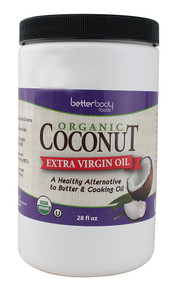 Better Body Foods, Organic Extra Virgin Coconut Oil - 28 fl oz