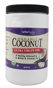 Better Body Foods Virgin Organic Coconut Oil -- 28 fl oz