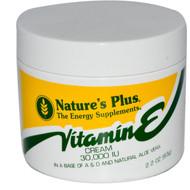 Nature's Plus, Vitamin E Cream 30,000 IU, 2.2 oz (63 g)