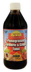 Dynamic Health, Gluten Free Tonic,  Pomegranate Turmeric & Ginger - 16 fl oz