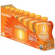 Mamma Chia, Organic, Chia Squeeze, Vitality Snack, Mango Coconut, 8 Squeeze, 3.5 oz (99 g) Each