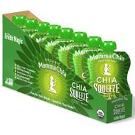Mamma Chia, Chia Squeeze Vitality Snack, Green Magic, 8 Pouches, 3.5 oz (99 g) Each