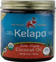 Kelapo Organic Extra Virgin Coconut Oil -- 14 fl oz