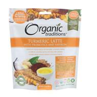 Organic Traditions, Turmeric Latte with Probiotics and Saffron, 5.3 oz (150 g)