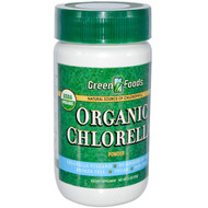 Green Foods Corporation, Organic Chlorella Powder, 2.1 oz (60 g)