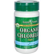 Green Foods , Organic Chlorella Powder, 2.1 oz (60 g)