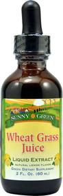 Sunny Green Wheat Grass Juice Natural Lemon -- 2 fl oz