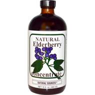 Natural Sources Elderberry Concentrate Blend - 16 fl oz