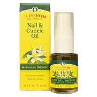 Organix South, TheraNeem Naturals, Neem Nail Therap&&, Nail & Cuticle Oil, 0.5 fl oz (15 ml)
