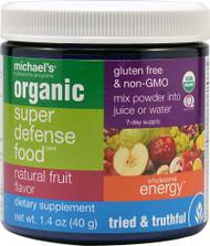 Michaels Naturopathic Programs, Organic Super Defense Food,  Natural Fruit - 1.4 oz
