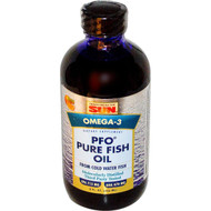 Health From The Sun, PFO Pure Fish Oil,  Orange Flavor, 8 fl oz (236 ml)