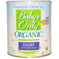 Natures One, Babys Only Organic, Toddler Formula, Dairy, 12.7 oz (360 g)