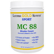 California Gold Nutrition, Micellar Casein Protein, Ultra-Low Lactose, Gluten Free, 16 oz (454 g)