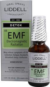 Liddell Homeopathic Detox Electromagnetic EMF Radiation - 1 fl oz