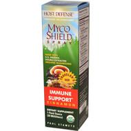 Fungi Perfecti, Host Defense, Myco Shield Spray, Immune Support, Cinnamon, 1 fl oz (30 ml)