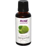 Now Foods, Essential Oils, Bergamot, 1 fl oz (30 ml)