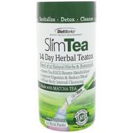 3 PACK OF DietWorks, Slim Tea, 14 Day Herbal Teatox, Matcha Tea, Raspberry Flavor, 14 Stick Packs