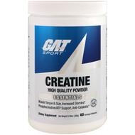 GAT, Creatine, Unflavored, 10.58 oz (300 g)
