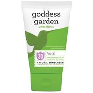Goddess Garden Organics Facial Natural Sunscreen SPF 30 -- 3.4 fl oz