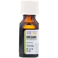 Aura Cacia, Pure Essential Oil, Oregano, .5 fl oz (15 ml)