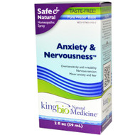 Dr. King's Natural Medicine Anxiety & Nervousness - 2 fl oz