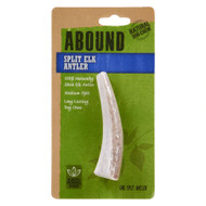 Abound Split Elk Antler Natural Dog Chew -- 1 Dog Treat
