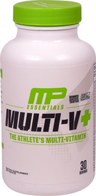 MusclePharm, Essentials, Multi-V+, The Athletes Multi-Vitamin, 60 Tablets